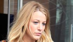 Blake Lively has no willpower for diets & doesn't work out