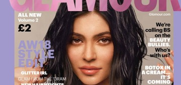 Kylie Jenner 'overlined' her lips 'like crazy' and 'people started getting obsessed'