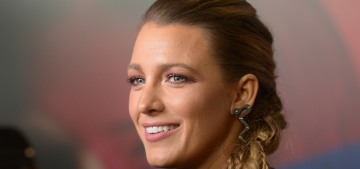 Blake Lively doesn't drink, but considers herself 'the in-house mixologist in my family'