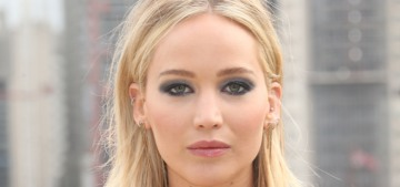 Jennifer Lawrence: 'I like the style of the '90s – a little bit androgynous but also elegant'
