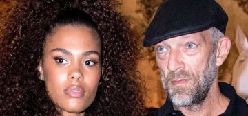 Vincent Cassel, 51, steps out with his 21-year-old wife Tina Kunakey in Paris