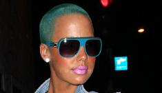 Kanye West's on/off girlfriend Amber Rose gets a modeling contract