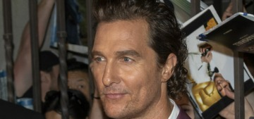 Matthew McConaughey won't shut up about the problem of 'single parent families'