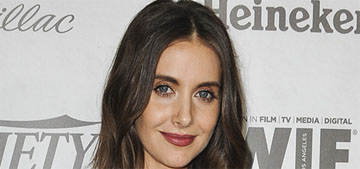 Alison Brie in Dundas at the Variety Emmy Party: 80s excess or retro success?