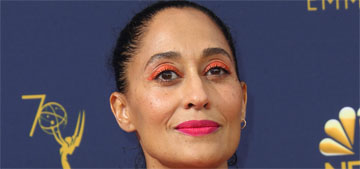 Tracee Ellis Ross in Valentino at the Emmys: dramatic and scene stealing?