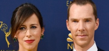 Benedict Cumberbatch & Sophie confirmed their third pregnancy during the Emmys