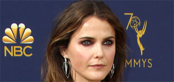 Keri Russell in Zuhair Murad at the Emmys: she was robbed but at least Matthew Rhys won?