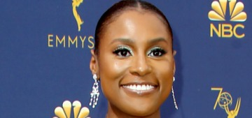 Issa Rae in a pale Vera Wang jumpsuit at the Emmys: stunning or not the best?