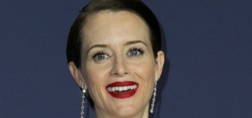 Claire Foy wins in Calvin Klein at the Emmys: simple, classic and… regal?