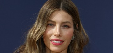 Jessica Biel in Ralph & Russo at the Emmys: one of the best gowns of the night?