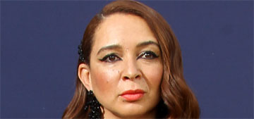 Did Maya Rudolph deliberately sabotage her fashion at the Emmys last night?