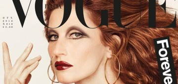 Gisele Bundchen channels iconic Italian pop star Mina Mazzini for Vogue Italia
