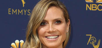 Heidi Klum denies she's engaged after being seen out with a huge ring