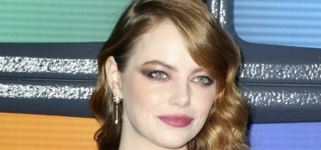 Emma Stone in metallic Givenchy at the NYC 'Maniac' premiere: stunning or blah?