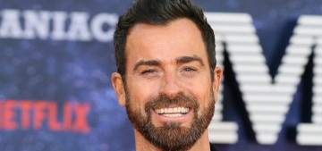 Justin Theroux on Jennifer Aniston: 'Neither one of us is looking to throw hatchets'
