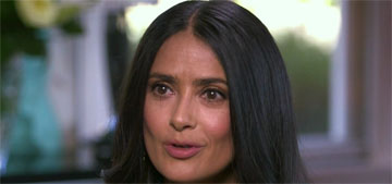 Salma Hayek let her 11 year-old daughter cut her hair