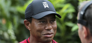 Tiger Woods, 42, wins first tournament in five years after multiple surgeries