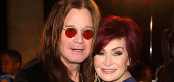 Sharon Osbourne only gets busy with Ozzy on birthdays and holidays