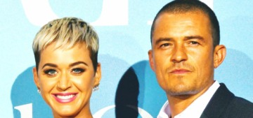 Katy Perry & Orlando Bloom walked their first carpet together with the Monaco royals