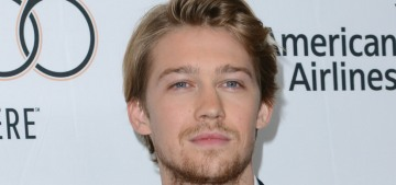 Joe Alwyn showed off his new wispy facial hair at the NYFF: love it or hate it?