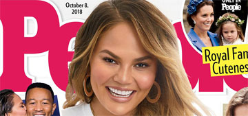 Chrissy Teigen's son and daughter 'were sharing the same little petri dish together'
