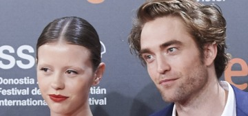 Robert Pattinson & Mia Goth think it's funny that their exes got together?