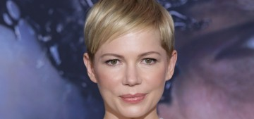 Michelle Williams in Louis Vuitton at the 'Venom' premiere: tragic or just meh?