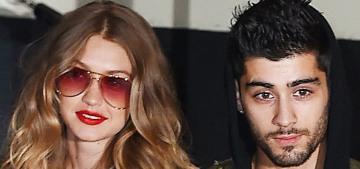 """Zayn Malik slept with another woman when he & Gigi Hadid were on a break"" links"