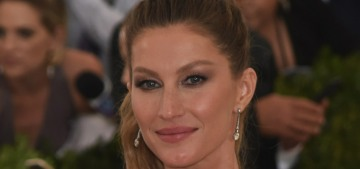 Gisele Bundchen brags about her home birth, which was against her doctor's advice