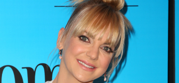 Anna Faris was ready for her son to go to kindergarten