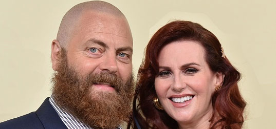 Nick Offerman didn't want to be one of those men complaining about their wives