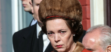 'Queen' Olivia Colman spotted on the set of The Crown