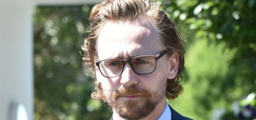 Tom Hiddleston was seen in public with another 'mystery brunette' lmao