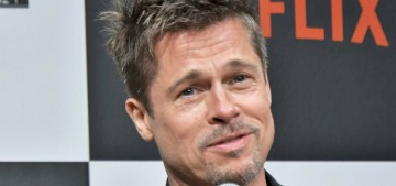 Brad Pitt was seen getting 'flirty' with a holistic nurse at a charity event