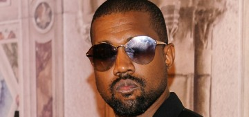 Kanye West deleted his social media accounts, which probably means he's running