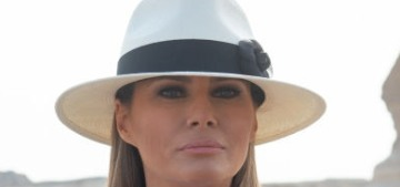 Melania Trump claims she's 'against any kind of abuse or violence'