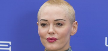 Rose McGowan supports violent misogyny & rape culture to own the libs