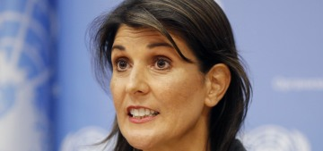 So how shady was Nikki Haley's sudden resignation from the UN after all?