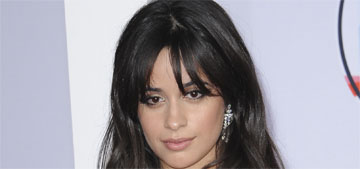 Camila Cabello in black and white Armani Prive at the AMAs: boring or sleek?