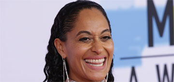 Tracee Ellis Ross in Pyer Moss at the AMAs: goofy but fun?