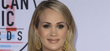 Carrie Underwood wore a Steven Khalil gown to the AMAs, won for female country artist