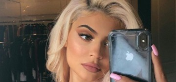 Kylie Jenner is back to over-inflating her lips to cartoonish proportions with fillers