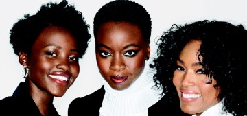 The women of 'Black Panther' cover Elle, talk about their 'unapologetically black' film