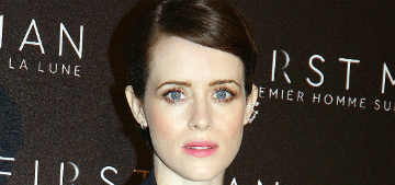 Claire Foy on her daughter 'She's very like a border collie. She needs to run outside'