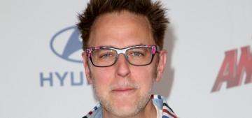"""Never fear, dudes like James Gunn will always get second chances"" links"