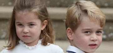 Prince George & Princess Charlotte totally stole the show at Eugenie's wedding