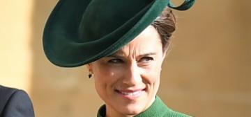 Pippa Middleton wore green Emilia Wickstead to Princess Eugenie's wedding