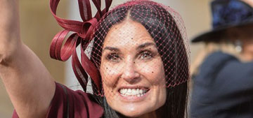 Demi Moore made her first Instagram post for the royal wedding