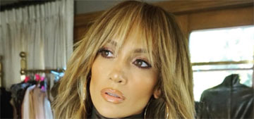 Jennifer Lopez got long fringe bangs: cute or they will be a pain to grow out?