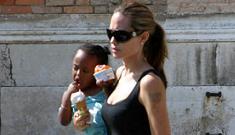 Is Angelina Jolie pregnant? She looks like she has a baby bump